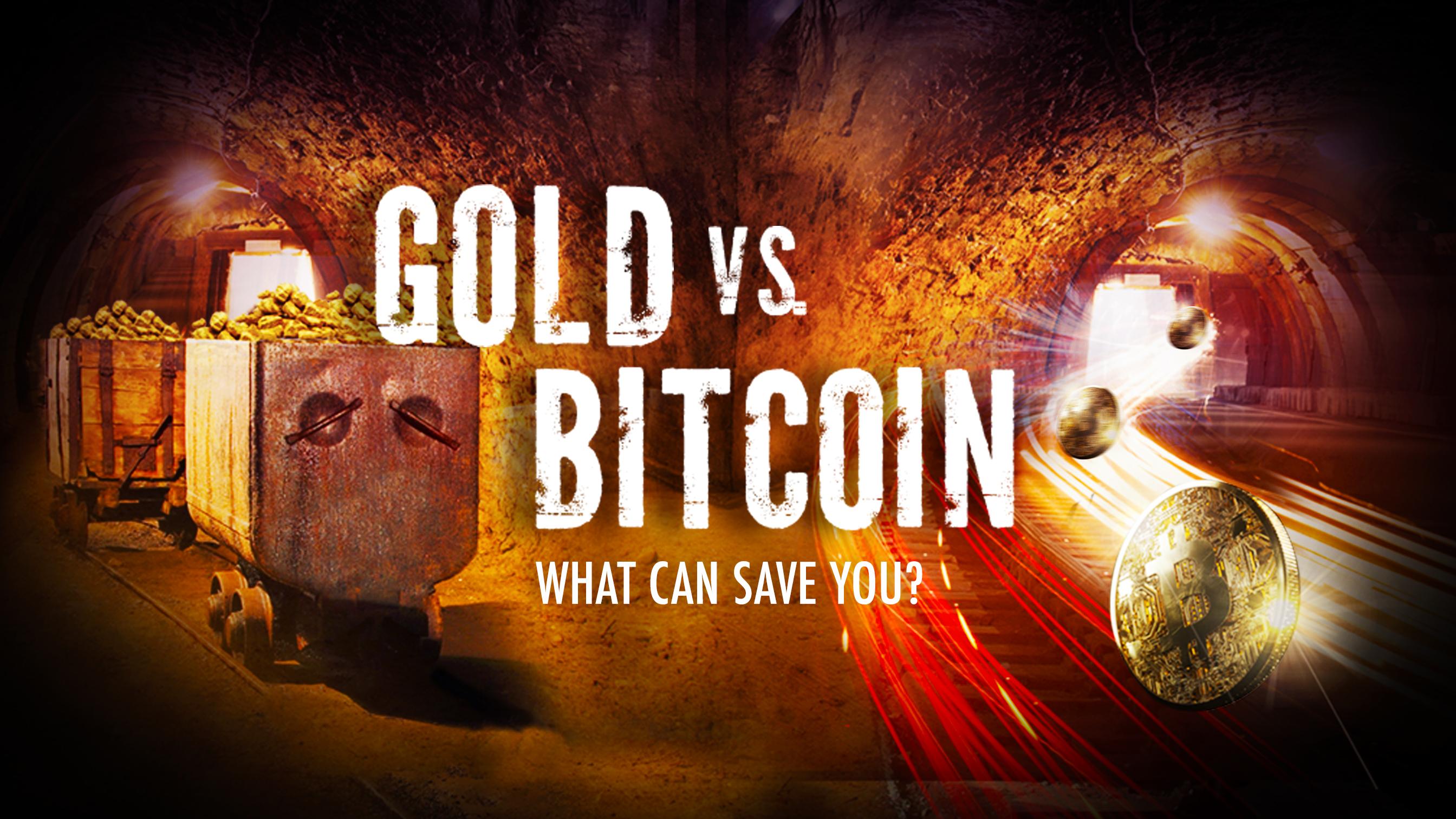Gold vs Bitcoin on Real Vision