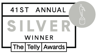Real Vision is a Silver Winner of The Telly Awards