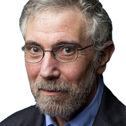 Paul Krugman, Professor, Columbia University New York. Columnist, New York Times.