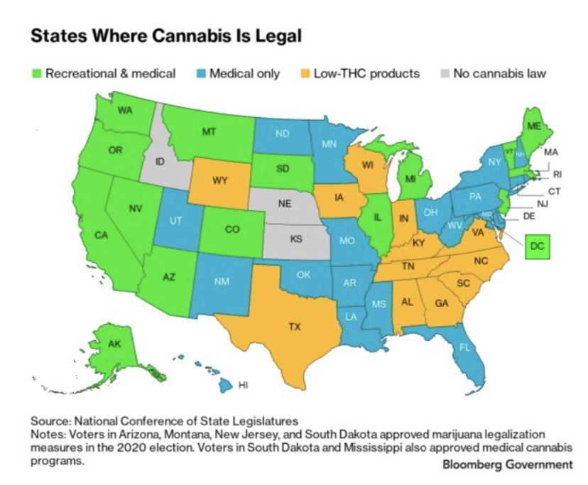Where Cannabis is Legal