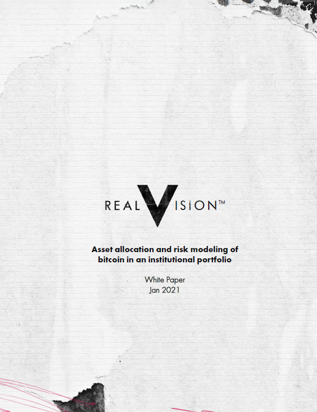 Real Vision White Paper cover page